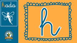 Escritura de consonantes: h